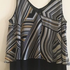 Two tier cami top. Lane Bryant. Worn once. Size 16